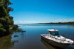 ...und Zugang zum Rio Negro und zum Rio de la Plata.