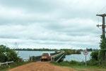 ...diese Brücke ist so breit wie unser Fahrzeug...