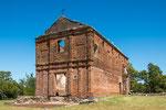 ...auch die hohe Kirche wurde mit Ziegel gebaut