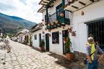….diese Strasse erinnerte uns an Andalusien….