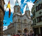 ....eine weitere von 52 Kirchen in Cuenca....