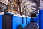 """...die nächsten Bilder zeigen das Kloster """"Santa Catalina""""...."""
