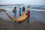 """Die tollen """"Caballitos de totoral"""" = Schilfpferdchen Boote...."""
