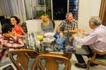 Bei Camilos Eltern....
