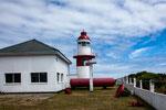 Der deutsche Auswanderer Siemsen hat 1860 diesen Leuchtturm (und 4 weitere) gebaut...