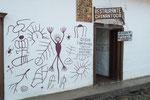 .....Wandzeichnungen den alten Felszeichnungen nach empfunden....