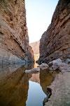 Der Rio Grande ist mit dem Kanu einfach befahrbar