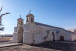 ...die älteste Kirche Chiles - 1611 gebaut...