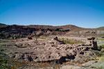"""...der Rio Grande hat sich überall tief """"eingegraben"""""""