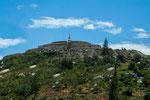 ....Yungay: unter diesem Berg liegen 18.000 Menschen begraben - ein Erdrutsch....