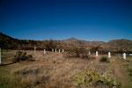 Der Friedhof des Fort Bowie