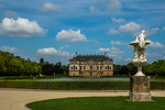 "...""Großer Garten"" mit frühbarockem Palaisgebäude..."