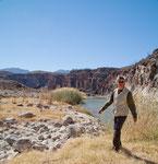 ...Staudämme und Bewässerung haben ihn fast ausgetrocknet