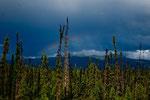 Gewitter und Regenbogen