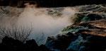 Grand Falls im Abendlicht