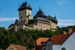 Burg Karlstein - von Kaiser Karl IV in 1348 erbaut...