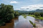 """...dieser Fluss verbindet viele Stauseen im """"Valle de Punilla..."""