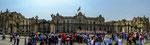 """Wachwechsel am Regierungsgebäude am """"Plaza de las Armas""""...."""