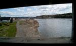 Blick aus der Brücke