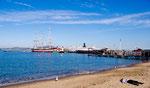 Strand in SanF westlich der Fisherman Wharf
