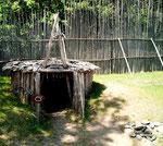 Sauna einer Huronsiedlung
