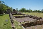...die Grundmauern der großen Jesuiten-Reduktion mit Schwerpunkt Ziegelherstellung...
