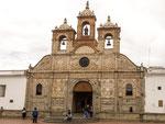 Eine von vielen Kirchen in Riobamba.....