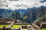 ...speziell wegen der unglaublichen Landschaft ist Machu Picchu einmalig...