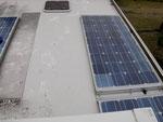Der Tungurahua hat täglich unser Dach verdreckt....