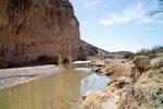 Rio Grande als Flüsschen