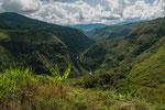 ....der enge Canyon des Rio Magdalena....
