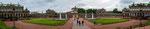Der Zwinger mit seinem Schlosspark...