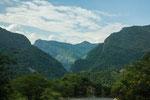 ....die Landschaft runter zum Rio Magdalena ist atemberaubend.....