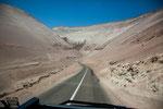 Die Atacama Wüste...