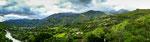 Das tolle Tal von Vilcabamba - eingerahmt von Bergen.....