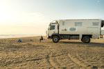 ...unser toller Strandplatz bei Arica...
