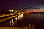 ...Villa Soriano bei Nacht.