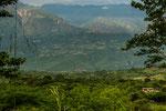 Kolumbien ist sehr grün.