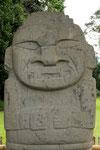 Die Steinfiguren in San Augustin sind bis zu 4.000 Jahre alt....