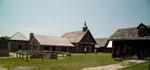 Die Jesuiten lebten in dieser Siedlung gemeinsam mit den Huron