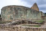 ....diese Inka-Monument war ausnahmsweise rund gebaut - sonst eckig....