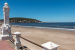 Piriapolis besitzt eine sehr schöne Strandpromenade...