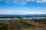 ...unser erster Blick auf den Titicacasee