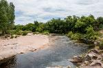 Das besondere an Mina Clavero sind seine Flüsse...