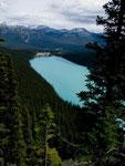 Lake Louise mit legendärem Eisenbahnhotel