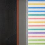 Manifold:0005 - acrylic on acrylic sheet - 40 x 40 cm