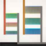 Manifold:0016 - acrylic on acrylic sheet - 60 x 60 cm