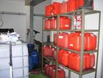 回収された廃食用油