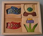 立体パズル(小)兜セットサイズ15×17×2,5㎝本体価格¥4000円