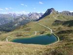 Kleinwalsertal, Bergbahnticket inklusive, Kanzelwandbahn, Speichersee, Riezlern, Wandern,